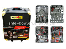188pcs Taiwan Tools Kits With Silver Strong Case