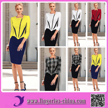 2015 Wholesale Cheap Accpet Paypal Custom New Lady Women Fashion Dresses