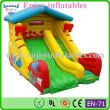2015 Enjoy shoe inflatable slide, offer inflatable slides, indoor inflatable slide china