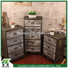 Antique Wooden Furniture , Solid Wood Cabinet with Drawers
