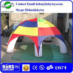 2015 Top sale clear inflatable lawn tent,tent with inflatable bottom,inflatable bubble camping tent