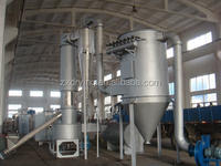 Spin flash dryer of wheat starch