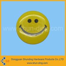 custom colorful Decorative Emoji Epoxy Resin Sticker, Smiley Face Sticker