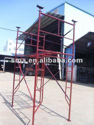 Q235 steel working platform steel H-frame scaffold