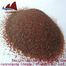 LM garnet sand blasting 30/60/abrasives garnet/water jet cutting abrasive