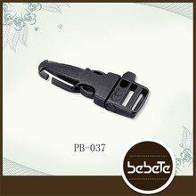 POM side release buckle,plastic whistle buckle