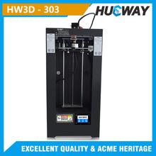 Hueway-303 T-shirt 3D printer /nail 3D printer/plastic cup 3D printing machinery