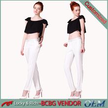Factory sale custom new fashion design cheap chino pants