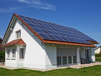 stand alone off grid solar power system 10kw for villa / hotel / school TY088