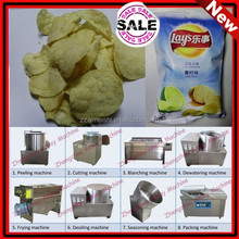 Popular french fries/potato chips machines 30kg/h