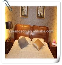 Corea estilo de madera sólida cama doble diseña venta
