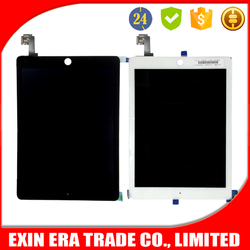 Best selling for iPad 6 for iPad Air 2 Screen Replacment LCD with Touch Digitizer Assembly Black and White