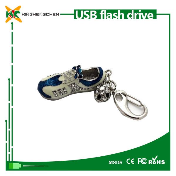 الأحذية نمط حملة القلم usb 16 gbl 64gb128gb الظاهر شرائح بطاقة الرسومات