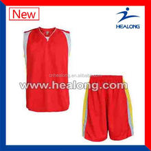 comfortable fit flat back fabric basketball game set