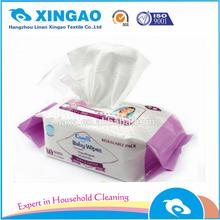 Popular organic customized baby wet wipes for body