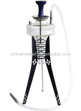 Best selling glass hookah shisha/nargile/water pipe/hubbly bubbly with good quality CH8007