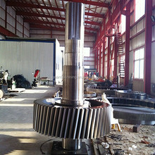 CNC forging shaft factory , Large Forged Steel Hollow Step Shaft , Forging Steel Fan Shaft