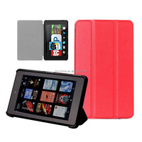 Utra thin leather cover case for Amazon Fire hd 6 case cover light weight 2014 October released with sleep function stock offer
