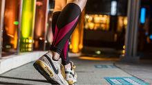 Sportswear calf compression sleeve