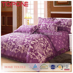 Chinese Factory 100% cotton fashion embroidered duvet cover sets