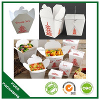 Beautiful and good quality doner kebab box,eco-friendlay paper noodle box with handle,round noodle box