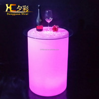illuminated LED table light ,led pool furniture for swimming set