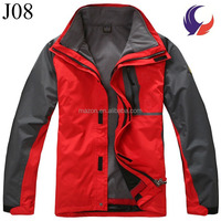 Mens Camping and Hiking Gear Cheap Outdoor Jacket for Men Waterproof Clothing J08