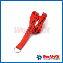 Professional high quality polyester lanyard