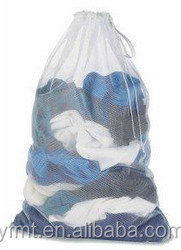 mesh laundry wash bag for washing and storage