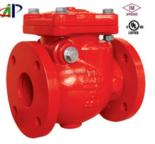 US STANDARD HIGH PRESSURE UL FM SWING CHECK VALVE WITH FLANGED END