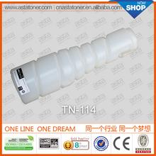 new technology 2005 toner refill for konica minolta tn-114 for konica minolta printer