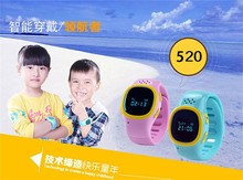 zly761 2015 New kids Safety GPS Tracker SOS Voice Monitoring smart wrist watch phone