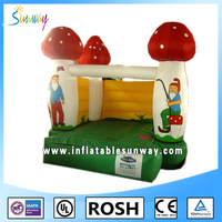 2015 funny good quality PVC hot sale inflatable bouncy castle bouncer