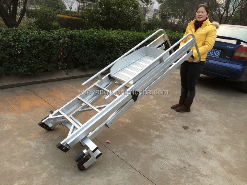 Safety Steps With Handrail Aluminum Safety Step Ladder