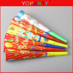 party planet happy birthday paper party horn