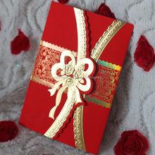 "Alibaba china factory direct chinese wedding invitation card 10"""