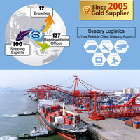 International sea freight forwarder container shipping service to mexico