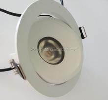 LED down light, adjustable, dimable, 2700-3000K