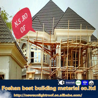 Innovative Design Corrugated Color Stone Coated Steel Roofing Tile,Metal Roofing Tile,Construction Material