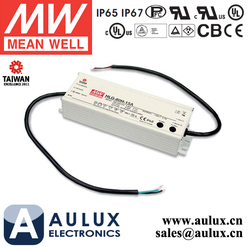 80W 54V LED Light Power Supply Meanwell HLG-80H-54D 7 Years Warranty With Timer Dimming Function