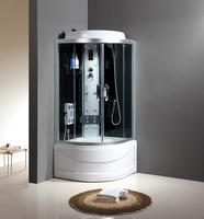 solid surface shower steam room