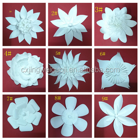 Giant Paper Flower Wall Backdrop Decoration - Buy Paper Flowers ...