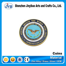 Custom souvenir country old or antique style metal coin