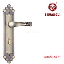 Good sale SHUANGLI zamak mortise handle set