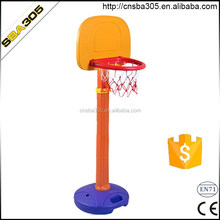 acrylic mini kids basketball ring and board