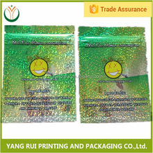 China market Customized Hot Printed dead man herbal incense bags