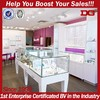 New Wooden Glass Jewelry Showroom Retail Store Display Furniture