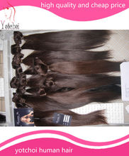 Hot sale factory cheap price high quality 100% human remy charming hair extensions