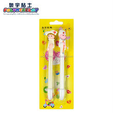 Wholesale high quality fimo doctors and nurses couple pen blister package for school stationery pen