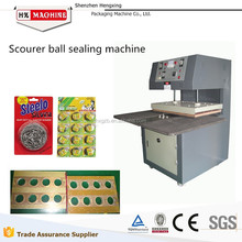Low cost Best quality Hot Sale Heat-Sealing Packing Machine For Kitchen Scourer With CE